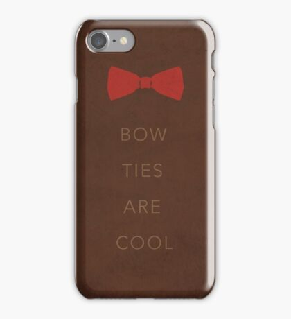 Bow Ties Are Cool Case iPhone Case/Skin