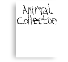 Animal Collective Canvas Print