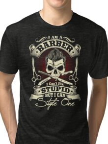 Barber T-Shirt Tri-blend T-Shirt