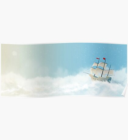 Sailing the Seven Skies Poster
