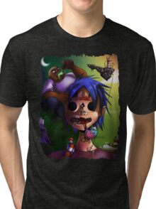Gorrillaz Tribute Tri-blend T-Shirt