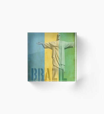 brazil Acrylic Block
