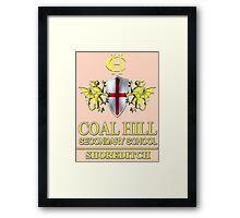 Doctor Who - Coal Hill Secondary Framed Print