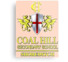 Doctor Who - Coal Hill Secondary Metal Print