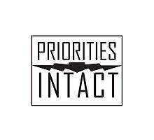 Priorities Intact Records Logo - Black by PrioritiesIntac