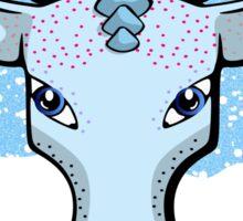Winter's Spirit Animal Sticker