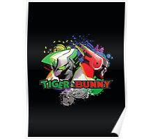 Tiger and bunny helmet Poster
