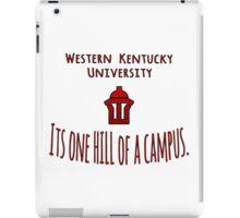WKU - One Hill of a Campus iPad Case/Skin