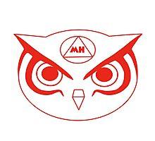 Marko Hernandez Owl logo Photographic Print