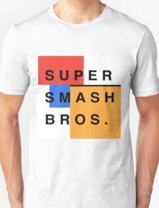 Super Smash Bros. Mondrian T-Shirt