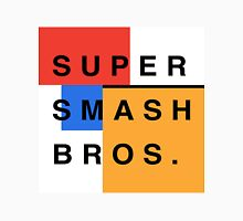 Super Smash Bros. Mondrian Unisex T-Shirt