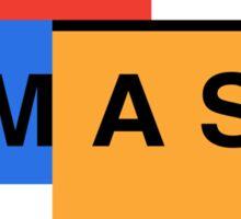 Super Smash Bros. Mondrian Sticker