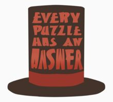 Every Puzzle Has An Answer T-Shirt