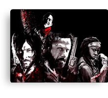 TWD Collection Canvas Print