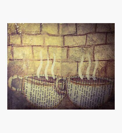 Coffee and Tea Photographic Print