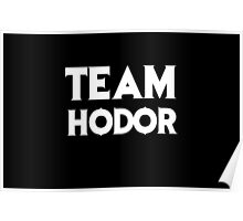 Game of Thrones - Team Hodor. Poster