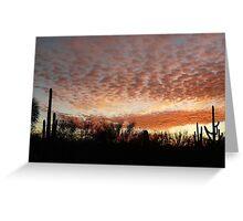 Arizona Sunset Sky Greeting Card