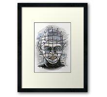 Lead Cenobite...Pinhead! Framed Print