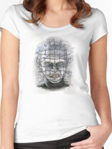 Lead Cenobite...Pinhead! Women's Fitted Scoop T-Shirt