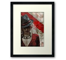 Clandestine - Grunge Urban Digital Art Framed Print