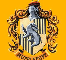 Hufflepuff by bethsemporium
