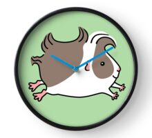 Leaping Guinea-pig ... Grey and White Clock