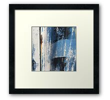 Paint Peel Texture from Township Framed Print