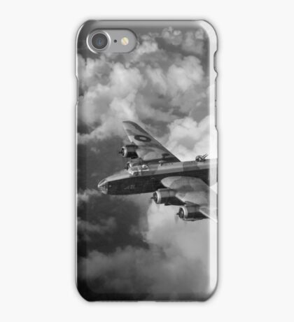 Handley Page Halifax above clouds iPhone Case/Skin