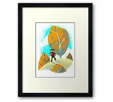 Looking for Adventure Framed Print