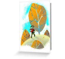 Looking for Adventure Greeting Card