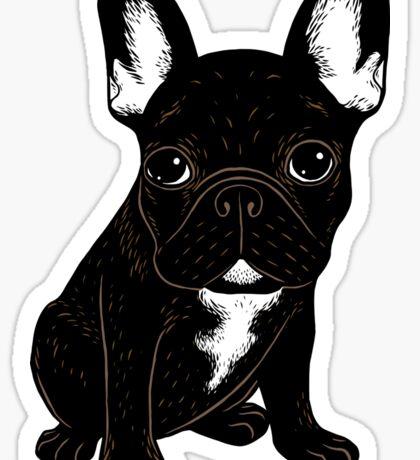 Brindle French Bulldog  Sticker