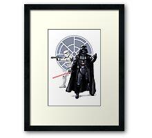 The dark side Framed Print