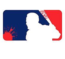 Major League Beating Photographic Print