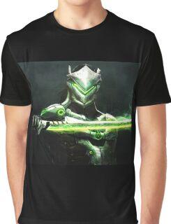 OVERWATCH GENJI Graphic T-Shirt