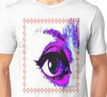 Pop Art Digital Eye  Unisex T-Shirt