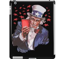 Uncle Sam Solo Cup T-Shirt - College Party Drinking Alcohol iPad Case/Skin