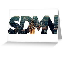 SDMN New york Greeting Card
