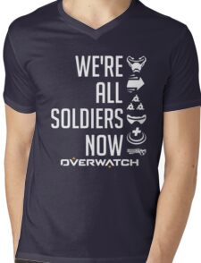 OVERWATCH SOLDIER 76 Mens V-Neck T-Shirt