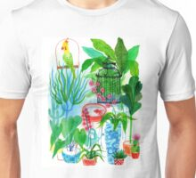 green-fingered polly Unisex T-Shirt