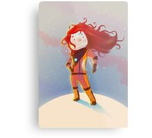 The Girl Wonder Metal Print