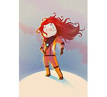 The Girl Wonder Photographic Print