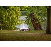 Evening at Regent's Park Photographic Print