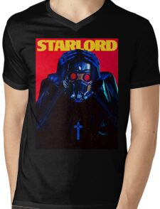 Starboy....I mean StarLord... Mens V-Neck T-Shirt