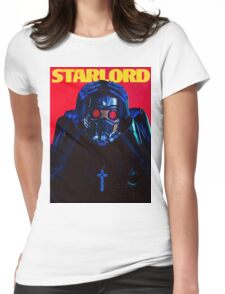 Starboy....I mean StarLord... Womens Fitted T-Shirt