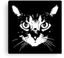 cat - b&w Canvas Print