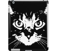 cat - b&w iPad Case/Skin