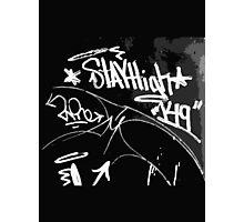 Street GRAFFITI.... Photographic Print