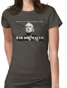 Mad Dog Mattis Womens Fitted T-Shirt