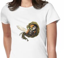 Chrono Trigger - Frog Womens Fitted T-Shirt