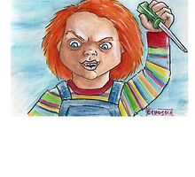 Hi, I'm Chucky. Wanna play? by EchoSoloArt